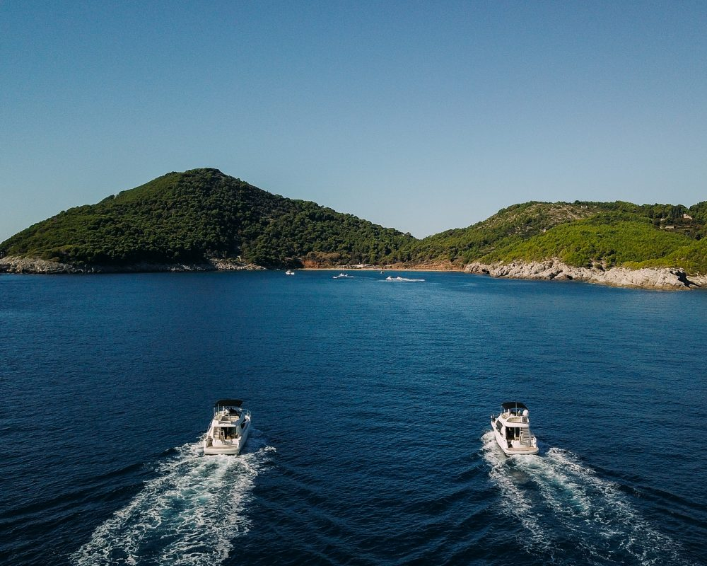 Dubrovnik Boats Lopud Cruise Elaphite Elafiti Islands